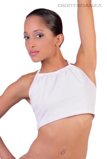 Top en dentelle-up de la danse moderne