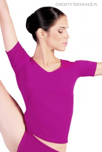 T-shirt de danse femme