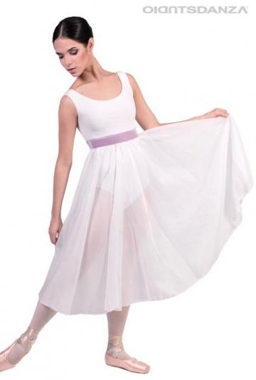 Longue robe de danse classique