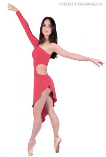 Robe danse moderne asymétrique C2105