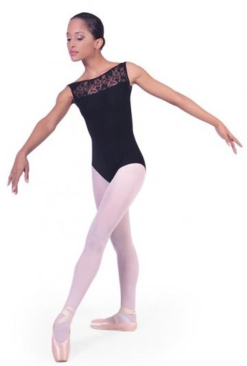 Danse des corps avec des insertions de dentelle B1002