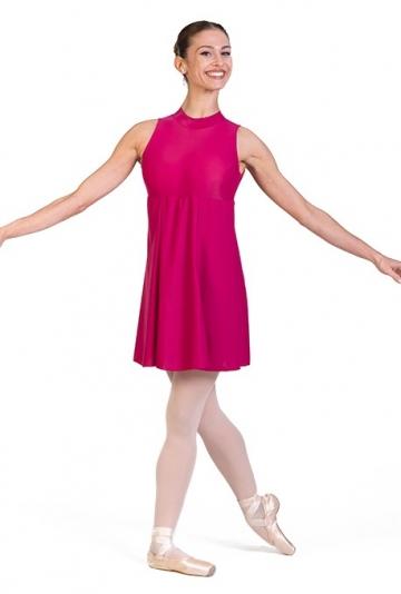 Robe courte de danse en lycra B7022