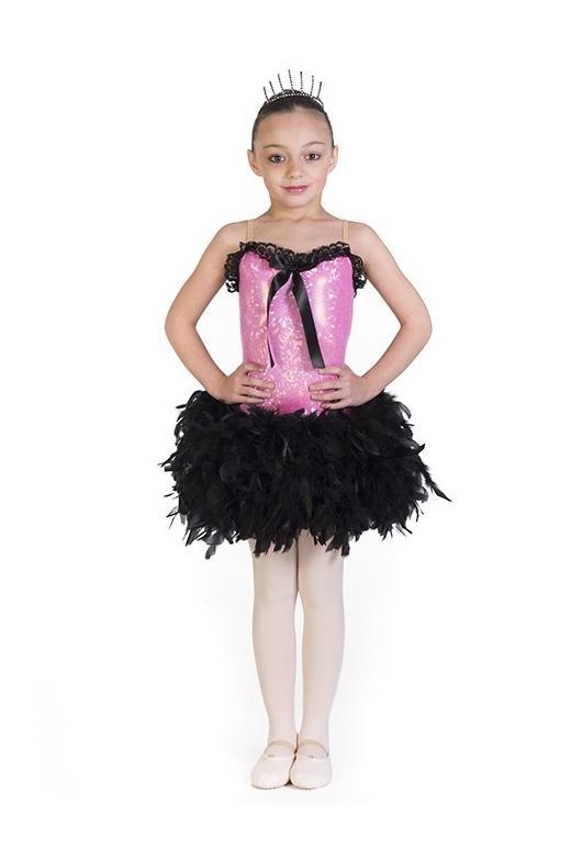 le costume de danse de fille. Black Bedroom Furniture Sets. Home Design Ideas