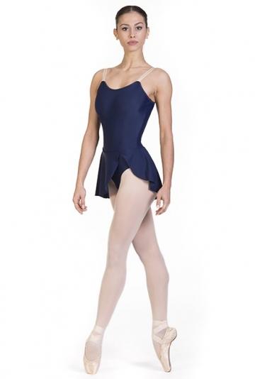 Justaucorps pour la danse classique avec une jupe B7018