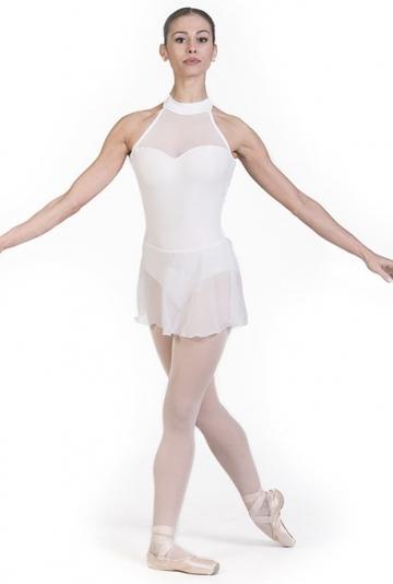 Le corps de ballet avec jupe en mousseline de soie