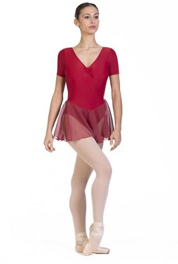 Tunique de ballet à manches très courtes B1008