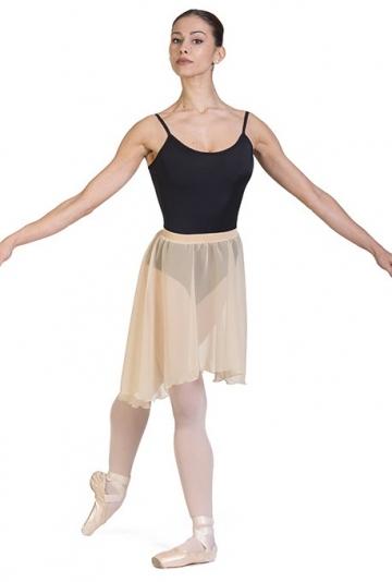 Jupe de danse-à-roue, asymétrique