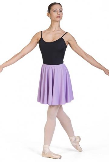 Jupe pour la danse, une roue dans le revêtement en tissu