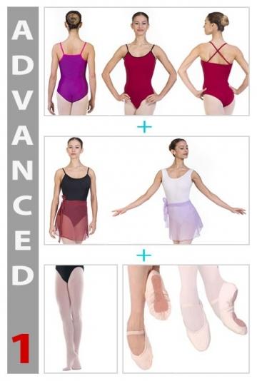 Complet de la danse classique pour adultes et jeunes filles pour l'offre spéciale