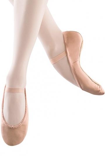 Demi-pointes de danse en cuir