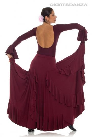 Jupe flamenco femme