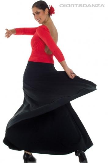 Jupe flamenco économique