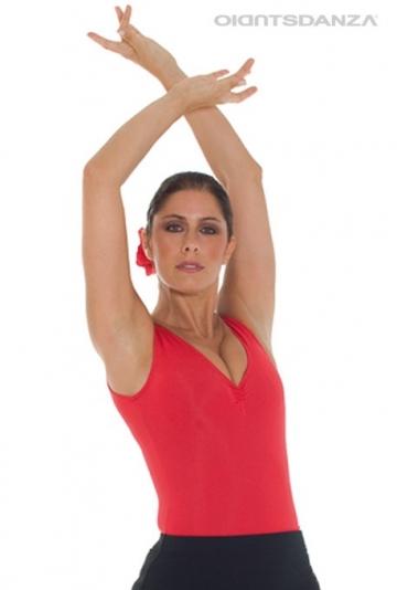 Corps de flamenco haut sans manches B1053